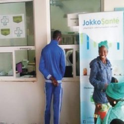 JokkoSanté à l'Hôpital Pédiatrique de Diamniadio.